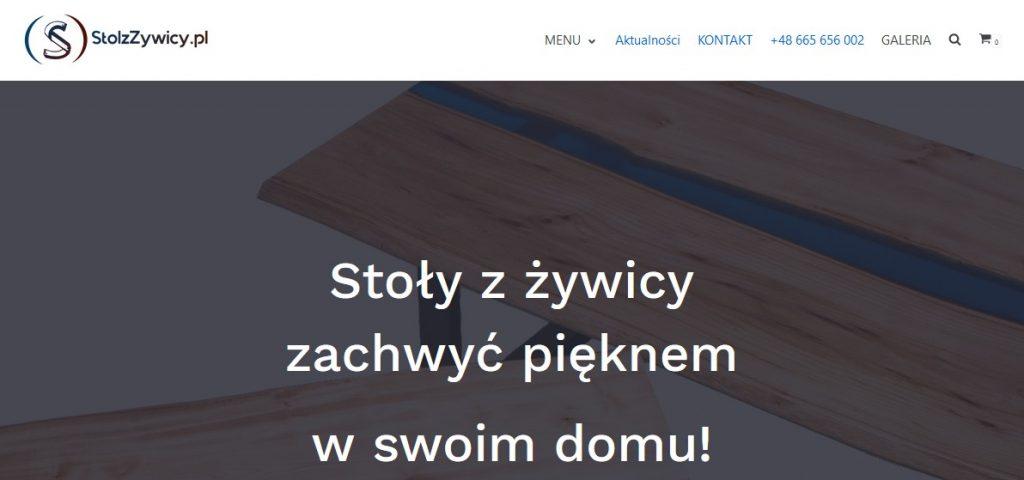 http://stolzzywicy.pl/ - gorąco polecamy